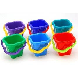Ведро пластмассовое Колокольчик Colorplast, Украина