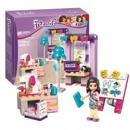 Конструктор для девочек Friends Ателье 10553 Bela FRIENDS