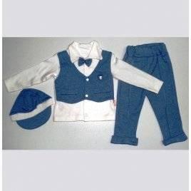 Костюм детский для новорожденного Стиляга 6-9-12 месяцев Турция