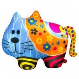 Антистрессовая игрушка Кот в цветочек SOFT TOYS 62 ТМ DANKO TOYS