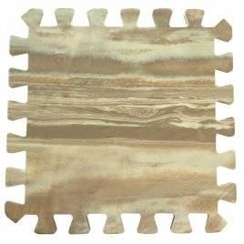 Коврик пазл мягкий пол  Паркет 30*30*1 см 10 пластин