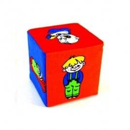 """Кубики мягки  погремушка """"Животные"""" или """"Ребенок"""" 123 Умная игрушка"""