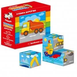 купить деревянные кубики для детей недорого