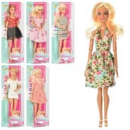 Кукла  шарнирная Модница на листе 8406 DEFA