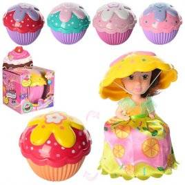 Кукла - кекс трансформер Cupcake с ароматом 2125/2128
