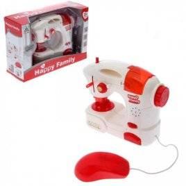 Швейная машинка со светом и звуком LS820K3 красная