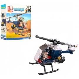 Конструктор Авиация вертолет Полиция M38-B0638B