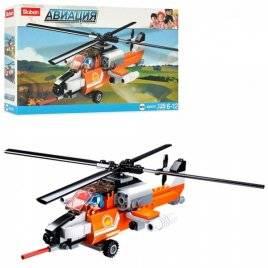 Конструктор Авиация вертолет Пожарный оранжевый M38-B0667D Sluban