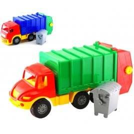"""Машина мусоровоз с бачком """"Магирус"""" большая """"Colorplast"""", Украина"""