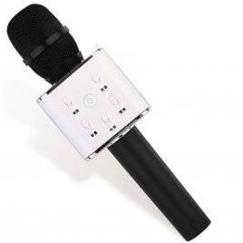 Микрофон беспроводной для караоке USB Bluetooth Q7