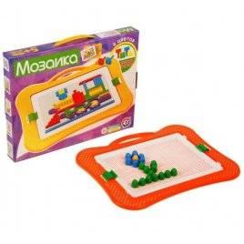 Мозаика для малышей 8 Паровозик 3008 528 деталей ТехноК