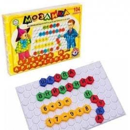 Мозаика обучающая Азбука и арифметика 2087 Технок