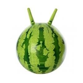 Мяч для фитнеса   с рожками Арбуз 0473