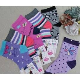 """Носки детские для девочки тонкие 31-33 размер """"BFL"""""""