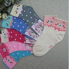 """Носки для девочки """"Малыш"""" 34-37 размер"""