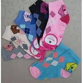 """Носки детские для девочек 31-34 размер """"Собачка"""""""