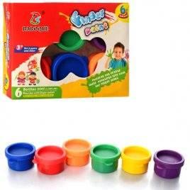 Краски пальчиковые 6 цветов 8868