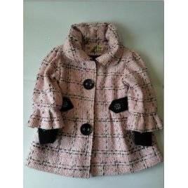 Уценка! Пальто розовое для девочки