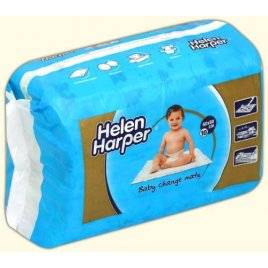 Детские пеленки одноразовые 60*60 см Helen Harper Хелен Харпер, Бельгия