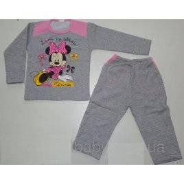 Пижама для девочки Мини Маус Турция