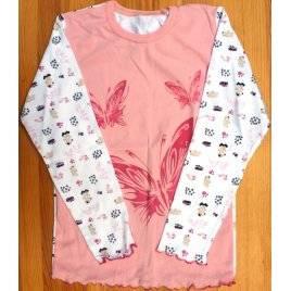 Пижама для девочки Бабочки трикотажная 0420181