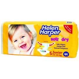 "Подгузники Helen Harper Junior (Хелен Харпер Джуниор) 15-25 kg, 44 штуки ""Soft and Dry"" № 5"