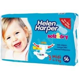 "Подгузники Helen Harper Midi (Хелен Харпер Миди) 4-9 kg 56 штук ""Soft and Dry"" № 3"