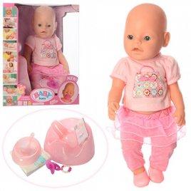 Пупс Baby Born интерактивная кукла с горшком и аксессуарами 8006-457