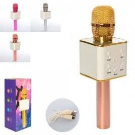 Микрофон  с акуммулятором USB Bluetooth Q7в коробке