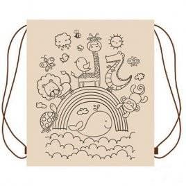 Раскраска рюкзак для раскрашивания и творчества Hand Made 30*40 см УкрОселя