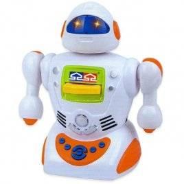 """Уценка! Б.у. Робот-сказочник игрушка """"В гостях у сказки"""" № 1 со светящимися глазами 0423"""