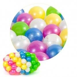 Шарики пластиковые для сухого бассейна перламутровые 467 в.3 Орион