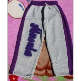 Штаны для девочек теплые фиолетовые 5-6 лет Турция