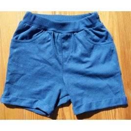 Шорты трикотажные синие для мальчика ШР457