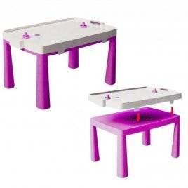 Стол пластиковый большой для девочки 04580/3 Doloni розовый
