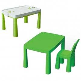 Стул и стол для дома и улицы 4 цвета Долони