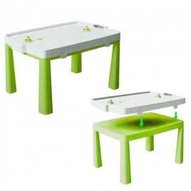 Стол пластиковый с насадкой для аэрохоккея зеленый 04580/2 Doloni