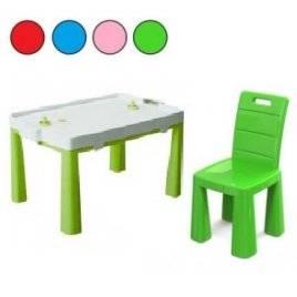 Стол и  стул для дома и улицы 4 цвета 04580 Долони