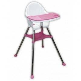 Стульчик для кормления  розовый 03220/3 DOLONI-TOYS