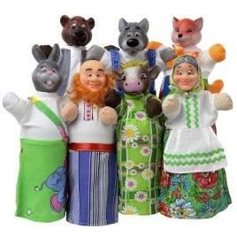 Куклы для кукольного театра + книга Премиум набор Чудисам