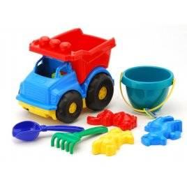 """Машинка """" Тотошка"""" № 3 самосвал с песочным набором Colorplast, Укранина"""