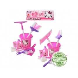 Набор для уборки  Hello Kitty НК 00030 9 предметов