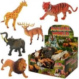 Животные дикие большие  6 видов Y13 поштучно