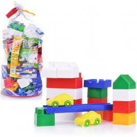 Конструктор пластиковый  юни-блок 94 детали 0125 Юника, Украина