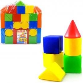 Конструктор  Замок 26 элементов большой Toys-plast, Украина ХИТ ПРОДАЖ!