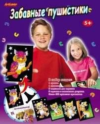 """Набор для творчества """"Забавные пушистики""""  FFA-FA100"""
