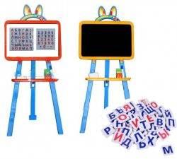Мольберт для детей магнитный с буквами 013777 Фламинго Украина