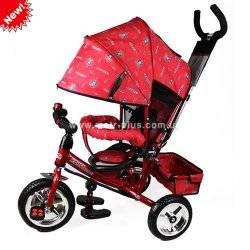 Велосипед Profi Trike M 0448-5 красный c тормозами