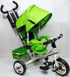 Велосипед Profi Trike M 0448-2 салатовый c тормозами