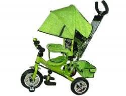 Велосипед Profi Trike Stroller салатовый M 0449-2 надувные колеса